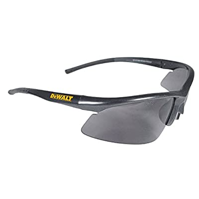 Dewalt DPG51-2C Radius Smoke 10 Base Curve Lens Protective Safety Glasses