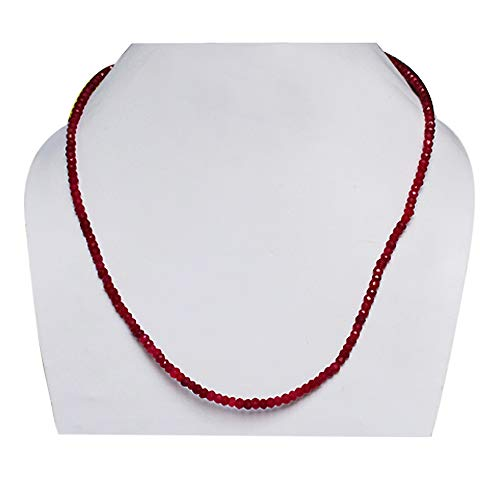 Ravishing Impressions Fashionable 4 MM Red Ruby Gemstone Full Strands Beads, Faceted String Beads, Rondelles Beads, Handmade, Best Price, FSJ-696
