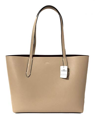 Coach F31535 Beachwood Wine Beige Large Leather Women's Tote Bag by Coach (Image #3)