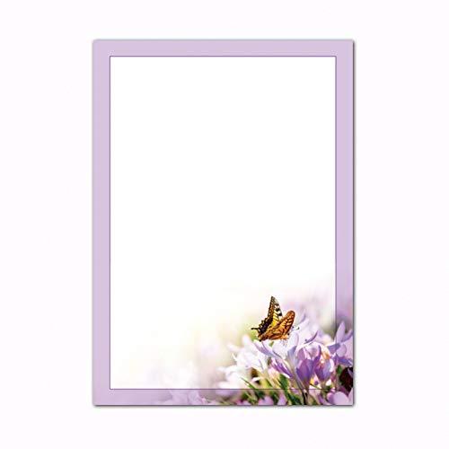 Fr/ühlingswiese 90 g-Offsetpapier Designpapier Fr/ühling 25 Blatt//DIN A5