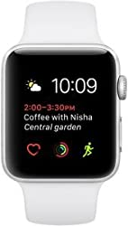 Apple Watch Series 2 38mm Silver Aluminum Case With White Sport Band - Mnnw2lla