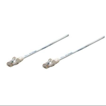 Intellinet Network Solutions 320726 Cat.5e UTP Patch Cable - Category 5e for Network Device - 50 ft - 1 x RJ-45 Male Network - 1 x RJ-45 Male Network - Gold-Plated Contacts - White WLM ()