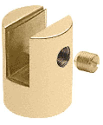 CRL Brass Slot Mount Standoff for 1/2
