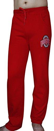 Corgeous Men's Ohio State Buckeyes Pajamas Sleepwears Pants - Red (Size: XL) (Ohio State Pajama)