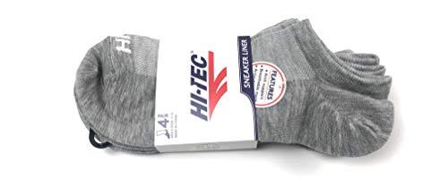 HITEC Sneaker Liner (Grey, 9-12)