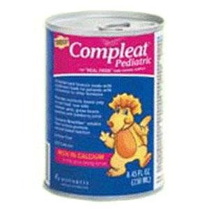 (Nestle Healthcare Nutrition Compleat® Pediatric Modified Tube Feeding Unflavored Food 250ml Can, 250kcal, Lactose-free, Gluten-free 24 Ct.)