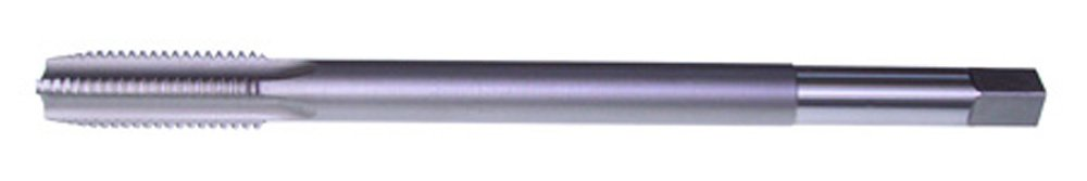 Uncoated Bright Finish Plug Chamfer North American Tool 15863 HSS Extended Hand Tap 3//8-24 NF Thread Type 6 Length