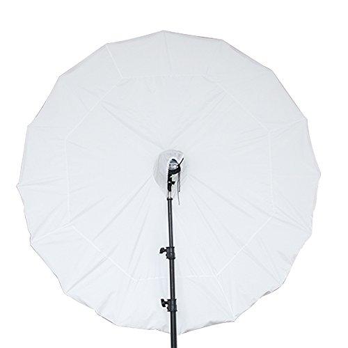"FOTOCREAT 65""(165cm) Parabolic Umbrella Diffusion for Photography"