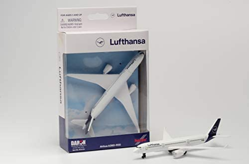 Amazon Com Daron Lufthansa A350 Single Plane Toys Games