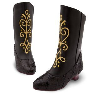 Disney Store Exclusive Frozen Anna Boots for Girls Size 11-12