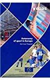 Autonomy of sport in Europe, Chappelet, Jean-Loup, 9287167206