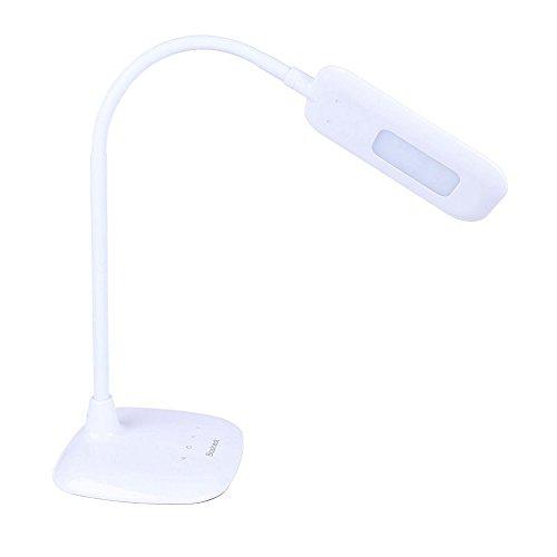 Basicest BAS2814 LED Light White Flexible Desk Lamp Ottlite