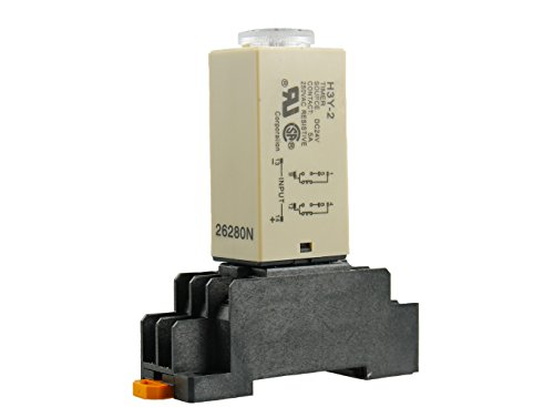 ay Timer Time Relay 0-60 Second 60s 60sec 24VDC Base US Shipping ()