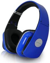 Technical Pro HP630 High Performance Headphones, 20Hz-20KHz Frequency Response, 32ohm Impedance, Blue