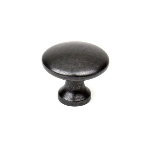 Century 05167 Builder's Choice Series 1-1/4 Inch Diameter Mushroom Cabinet Knob, Gun Metal