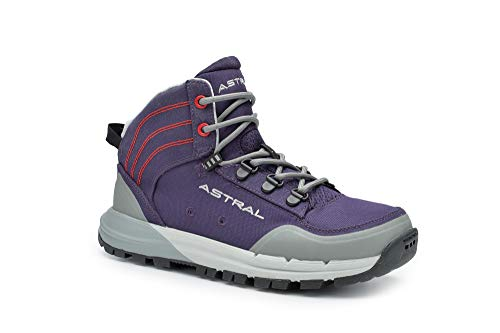 Astral Women's TR1 Merge Minimalist Hiking Boots, Quick Drying and Lightweight, Made for Camping and Backpacking, Eggplant Purple, 6.5 M US