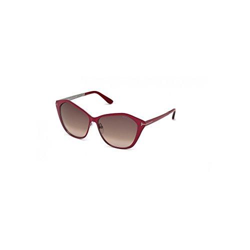 Sunglasses Tom Ford TF 391 FT0391 69Z shiny bordeaux / - Milano Sunglasses