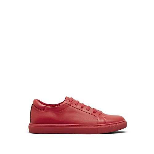 York Sneaker Kam New Leather Women's Red Fashion Cole Kenneth zn7WPRnT