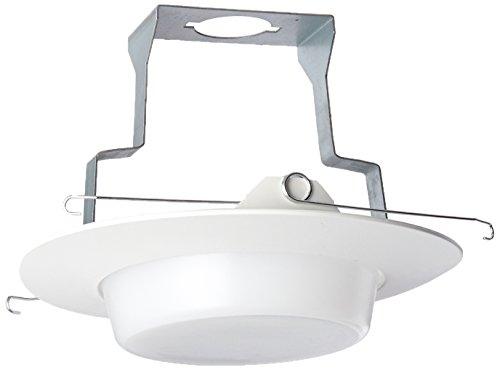 - NICOR Lighting 6-Inch Lexan Shower Trim with Drop Opal Lens (17568)