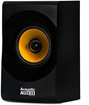 Acoustic Audio by Goldwood Bluetooth 2.1 Speaker System 2.1-Channel Home Theater Speaker System, Black (AA2170) 31cF2lG39PL