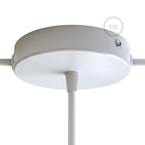 kwmobile Support lampe douille E27 - Câble pour ampoule avec bague fixation  - Cordon alimentation noir prise électrique ... 3445ef52a3df
