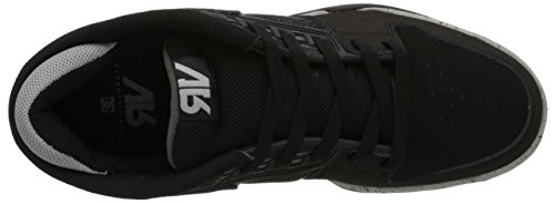 Ryan Skate Shoe Black DC Villopoto Grey Men's 7qTWnH5