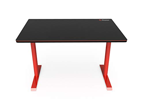 Arozzi Arena Leggero Compact Gaming Desk – Red – All PlayStation Consoles