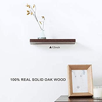 Amazon Com Inman Floating Shelves Display Wooden Wall