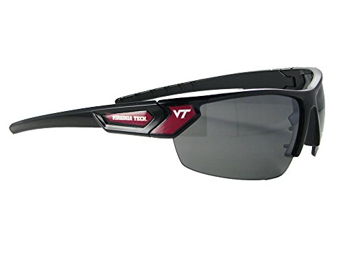 Virginia Tech Hokies Black Maroon Sport Mens Womens Sunglasses VTU - Sunglasses Tech Virginia