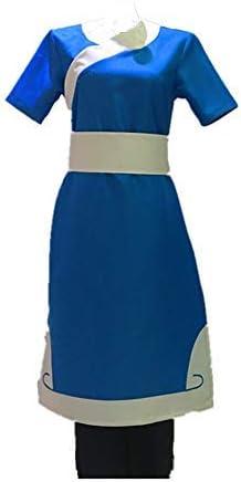 Disfraz de Katara para Cosplay de Anime Avatar The Last Airbender ...