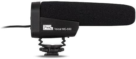 Pixel MC-550 - Micrófono para cámara réflex Digital o cámara de ...