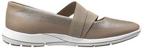 Aerosoles Damesrecord Mode Sneaker Brons Combo