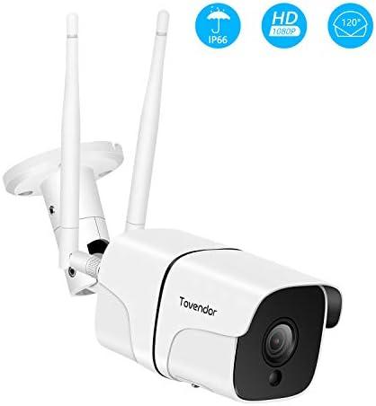 PTZ Smart Security Camera with Motion Detection, TOWODE Waterproof Home WiFi IP IR-Lens Wireless Camera 1080P CCTV Surveillance Cameras JPEG Snapshot Function Outdoor Surveillance Cameras