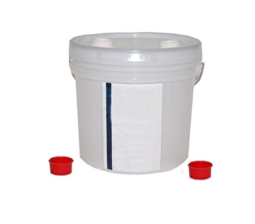 Trap Gleco (Henry Schein Odorless Disposable Plaster Trap - 3.5 Gallons (13 Liters) - Refill Bucket)