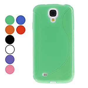 S-Shape Soft TPU Case for Samsung Galaxy S4 I9500 (Assorted Colors) 00611567