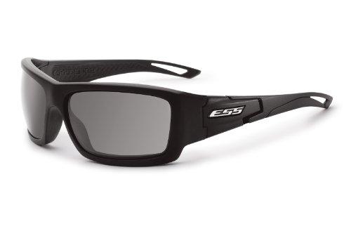 ESS Sunglasses Credence Black Frame Smoke Gray Lens EE9015-04 - Aviator Ballistic Sunglasses