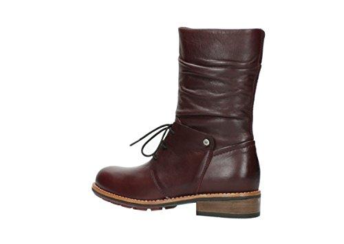 278854 Wolky NV 3204300 Damen Sandaletten Schwarz 20510 Leder Bordeaux wwqTXgSf