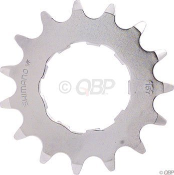 SHIMANO CS-MX66 DX Bicycle Cassette Cog (15T, - Cog Bmx