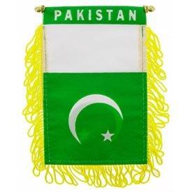 EagleEmblems WF1082 Mini-BAN,INT,Pakistan (3x5''), ()