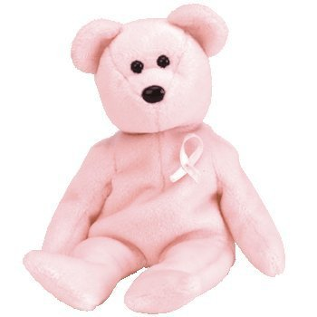 Ty Beanie Babies - Cure Breast Cancer Awareness Bear