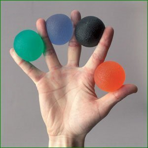 Dyna-Gel Therapy Balls - Firm (Orange) by Essential Aids