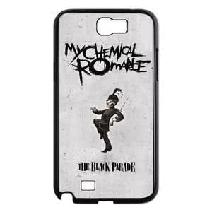 My Chemical Romance MCR Design ,TPU Phone case for SamSung Galaxy Note2 7100,black,1600US0DO6