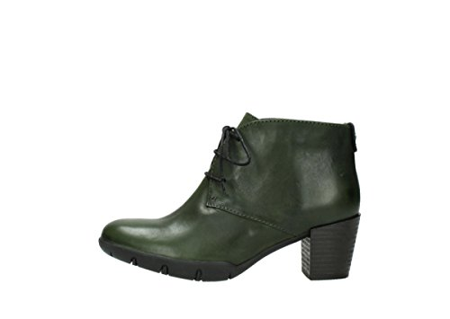Shoes green up Bighorn 30732 Comfort Wolky Leather Forest Lace FxZqfw1