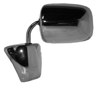 Manual Replacement Fits Either Driver or Passenger Side Mirror