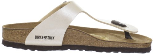 Birkenstock Gizeh Black Womens Sandals Graceful Antique Lace