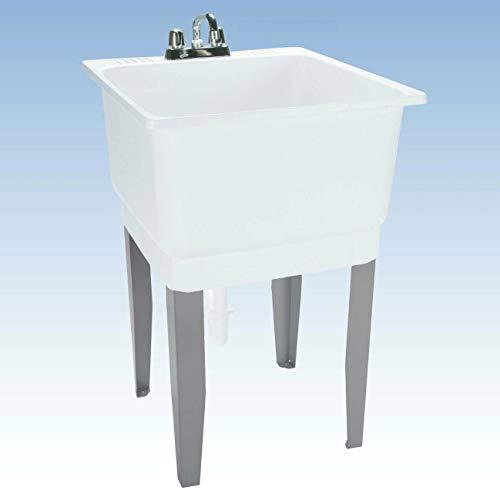 Bowl Floor Mount Laundry Sink - 4