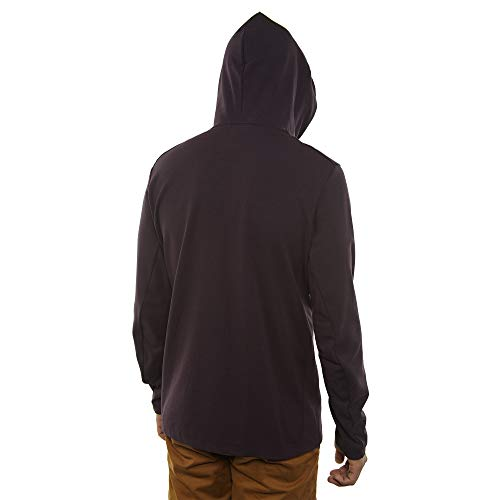 Nike Mens Tech Fleece Pack Full Zip Training Hoodie Burgundy Ash/Black AA3784-659 Size Small by Nike (Image #4)
