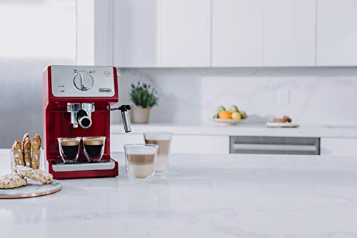 De'Longhi ECP3220R 15 Bar Espresso Machine with with Advanced Cappuccino System, Red by De'Longhi (Image #4)