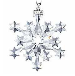 Swarovski 2004 Annual Christmas Snowflake Ornament S2004ORN by Swarovski