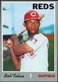 1970 Topps Regular (Baseball) card#409 Bob Tolan of the Cincinnati Reds Grade very good/excellent